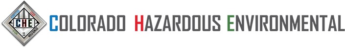 Colorado Hazardous Environmental Logo