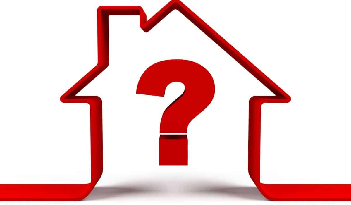 House with a question mark